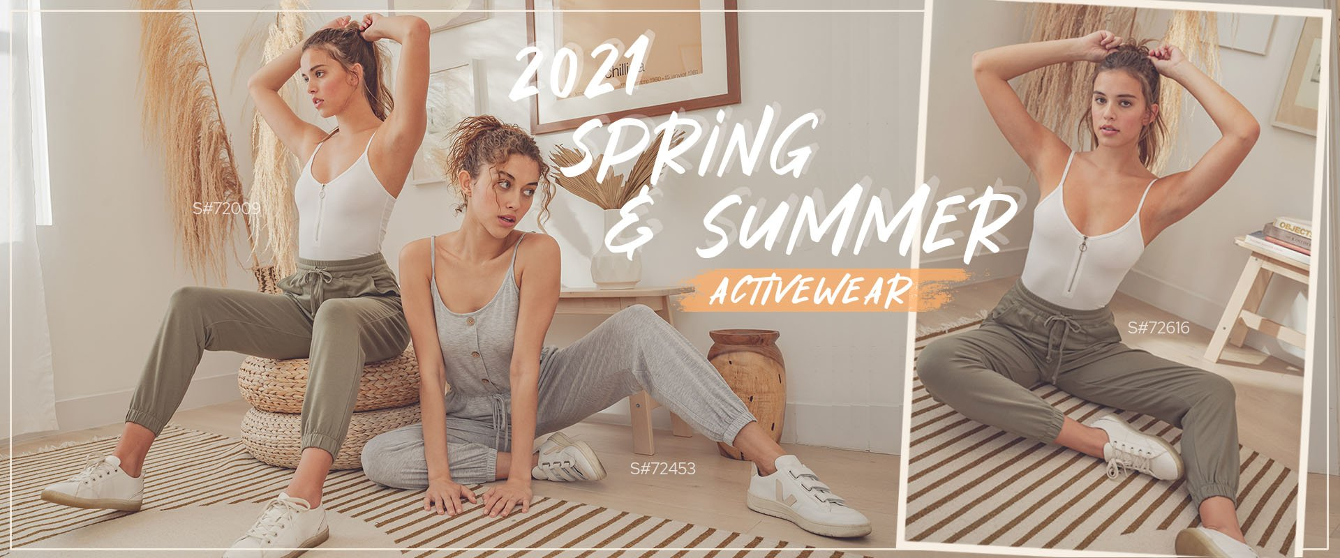 SPRING/SUMMER 2021 ACTIVEWEAR